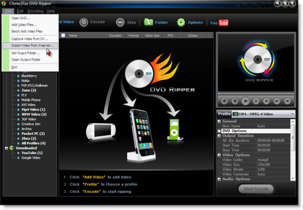 capture video from DV, convert DV video to FLV, MP4