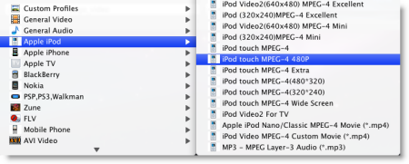 Convert Flip video to iPod on Mac