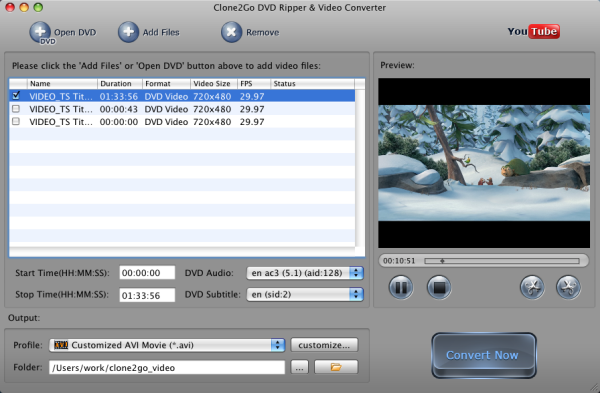 Convert DVD to Pocket PC on Mac