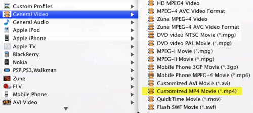 Convert AVI to MP4 on Mac